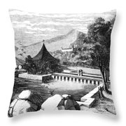 Escorial: La Granjilla Throw Pillow