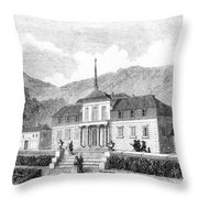 Escorial: Princes House Throw Pillow