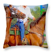 Escort Throw Pillow