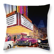 Esquire Theater Throw Pillow