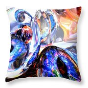 Essence Of Inspiration Abstract Throw Pillow