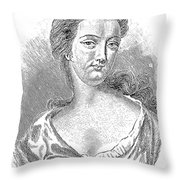 Esther Johnson (1681-1728) Throw Pillow