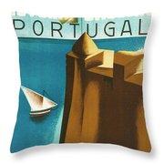 Estoril Cassais Throw Pillow