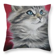 Estrella Throw Pillow by Jindra Noewi
