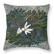 Estuary Bloom Throw Pillow