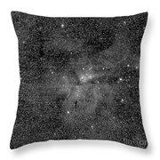 Eta Carinae Nebula, Cassini Image Throw Pillow