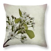Etched In Love Throw Pillow