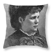 Etelka Gerster (1855-1920) Throw Pillow