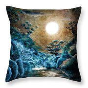 Eternal Buddha Meditation Throw Pillow