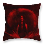 Eternity In Hunger Throw Pillow