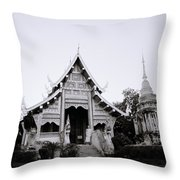 Ethereal Buddhism Throw Pillow