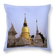 Ethereal Chedi Throw Pillow