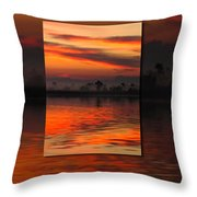 Ethereal Sunrise In Sunrise Throw Pillow