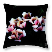Ethereal Tulips 2 Throw Pillow