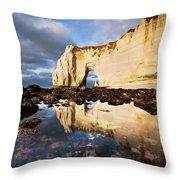 Etretat Haute-normandie Throw Pillow
