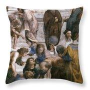 Euclid (fl. C300 B.c.) Throw Pillow