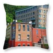 Eureka Springs Throw Pillow