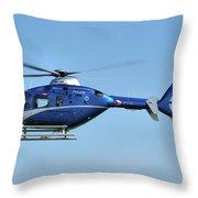 Eurocopter Ec135 Throw Pillow