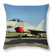 Eurofighter Ef2000 Typhoon Throw Pillow
