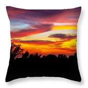 Evening Best Throw Pillow