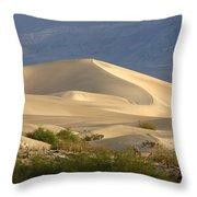 Evening Dune Throw Pillow