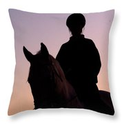 Evening Harmony Throw Pillow