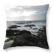 Evening Oceanview Throw Pillow