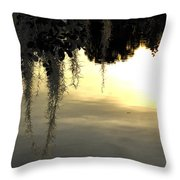 Evening On The Water  Throw Pillow