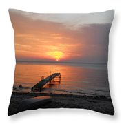 Evening Rest Throw Pillow