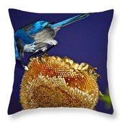 Evening Snack Throw Pillow