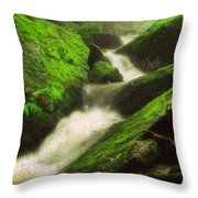 Ever So Softly Throw Pillow