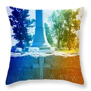 Every Ending Throw Pillow