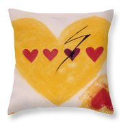 Every Third Heart Gets Broken Throw Pillow