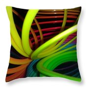Everyone Loves A Slinky Throw Pillow