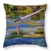 Excalibur Throw Pillow
