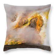 Excelsior Geyser Throw Pillow