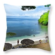 Exotic Hideaway Throw Pillow