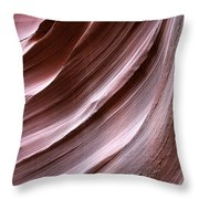 Experience For All Senses Throw Pillow by Christine Till