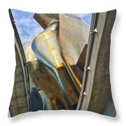 Experience Music Project Number Five Throw Pillow