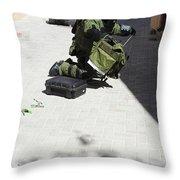 Explosive Ordnance Disposal Technician Throw Pillow