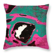 Expresiones 9 Throw Pillow