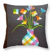 Express It Creatively Throw Pillow