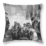 Expulsion Of Moors, 1609 Throw Pillow