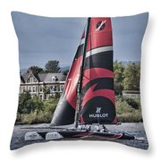 Extreme 40 Team Alinghi Throw Pillow