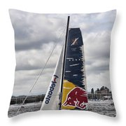 Extreme 40 Team Red Bull Throw Pillow
