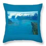Exuberant Gelid  Throw Pillow