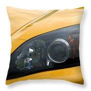 Eye Of A Car Throw Pillow