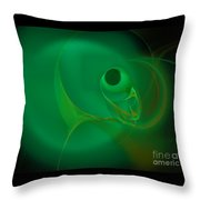 Eye Of The Fish Throw Pillow