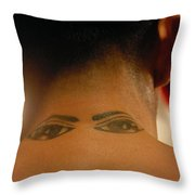 Eye See All Throw Pillow