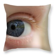 Eye-yi-yi Throw Pillow